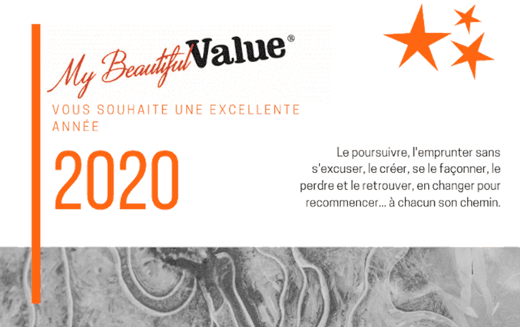 carte de voeux 2020 My Beautiful Value