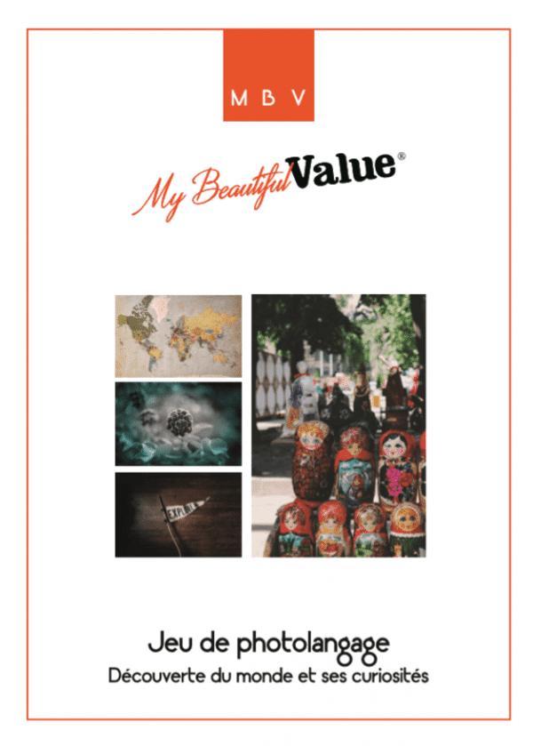 couverture d'un photolangage thématique créé par My Beautiful Value