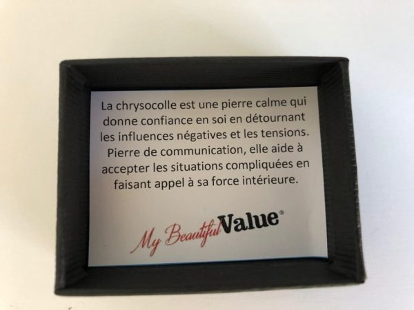 bienfaits et usage de la pierre chrysocolle by My Beautiful Value