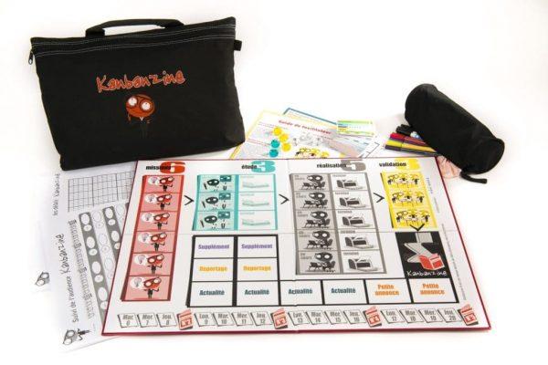 plateau de jeu kanbanzine