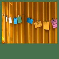 tableau des engagements des stagiaires lors d'un séminaire