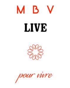 logo MBV live pour les événements