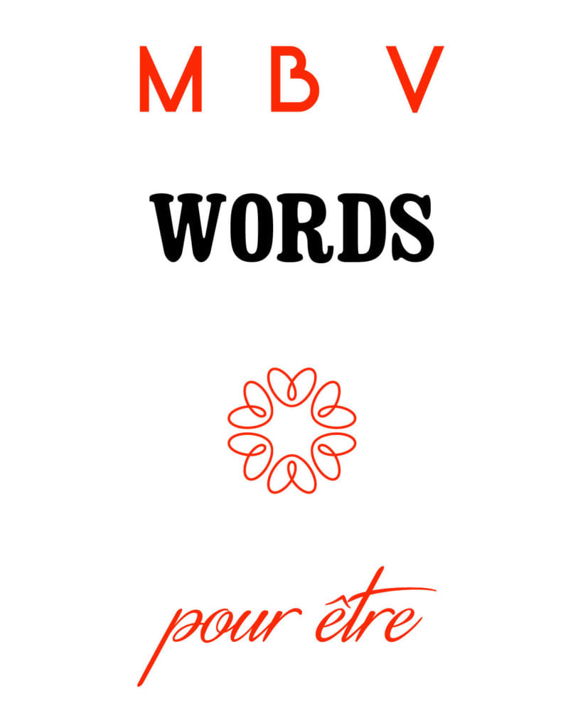 logo MBV words pour le story telling et les biographies