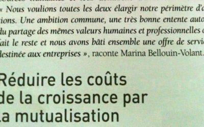 Réduire les coûts de la croissance par la mutualisation (Mag Aquitaine 06/12)