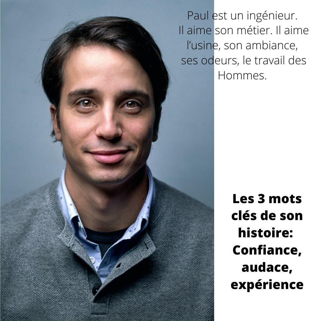 Paul est un ingénieur, il aime l'usine, son odeur son ambiance, le travail des Hommes