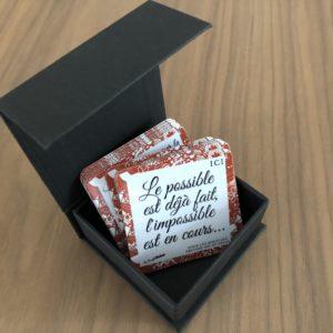 Magnets «Les petits mots tout chauds»